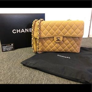 Chanel Classic Double Flap Bag Quilted Lambskin
